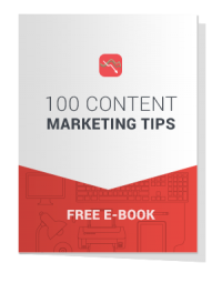 E Book - 100 Content Marketing Tips