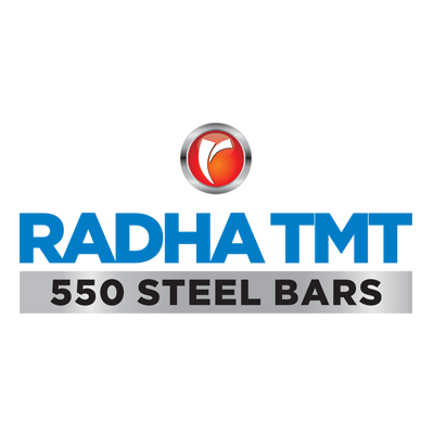 RADHA TMT 550 STEEL BARS LOGO